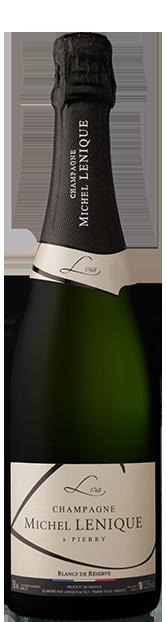 Champagne Lenique meilleur champagne blanc de blancs brut