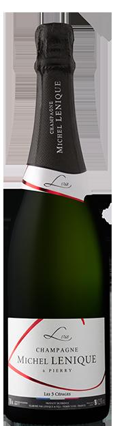 Champagne Lenique Michel meilleur champagne brut 3 cépages