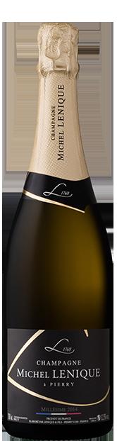 Champagne Lenique meilleur champagne millésimé brut