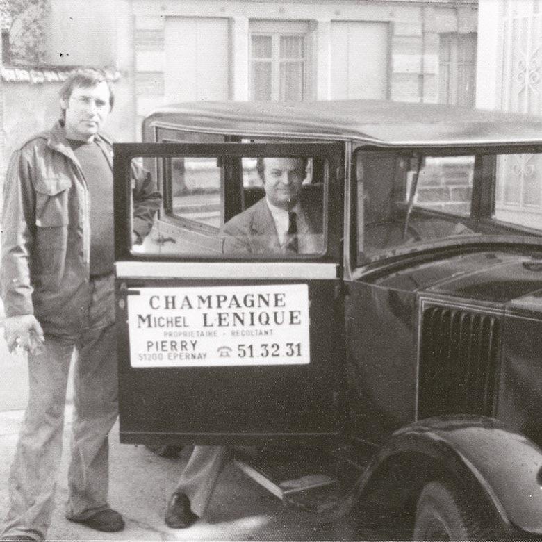 champagne Michel LENIQUE ET Michel RAVAUX