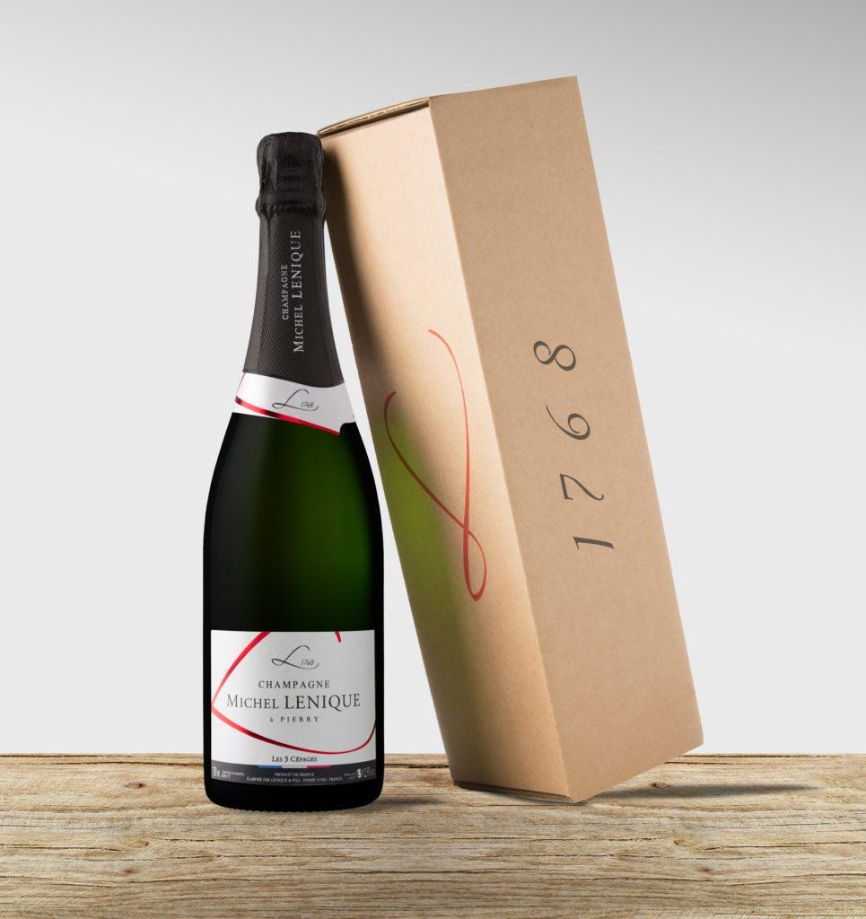 coffret cadeau entreprise champagne